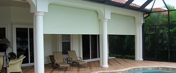 Aluminium Roll Down Shutters